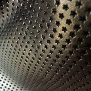 Sondra Roberts Bags - Perforated Black Leather Sondra Roberts Handbag